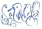 soul bird blue 7