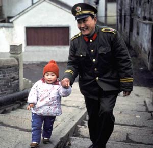 child and army