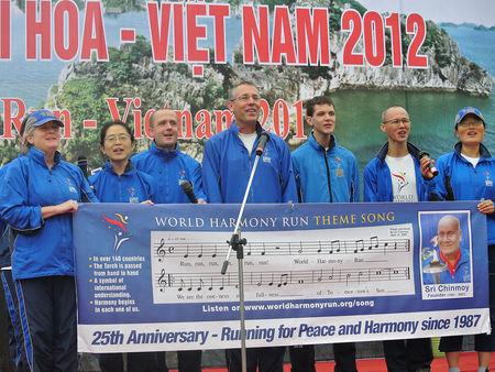 World Harmony Run in Vietnam