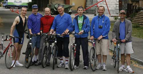 Sri Chinmoy Cycling Challenge 2012 in Europe