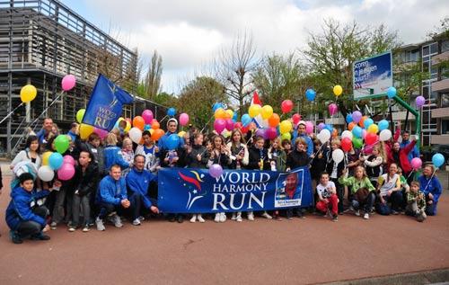 World Harmony Run 25 years anniversary