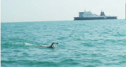 An Experience of Swimming English Channel