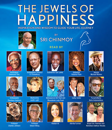 'Jewels of Happiness' Audiobook launched at United Nations