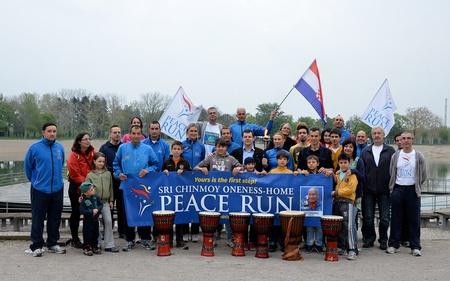 Peace Run in Croatia