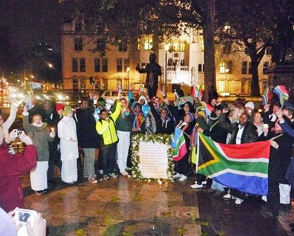 Tributes to Nelson Mandela