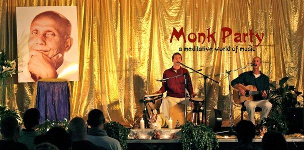 вечеринка с монахом
