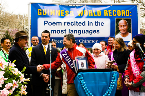 Record Attempt for Poem in Different Languages