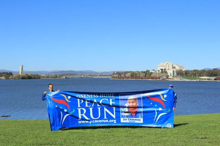 Sri Chinmoy Oneness-Home Peace Run in Australia