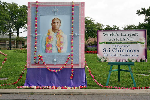Sri Chinmoy's 80th Birthday