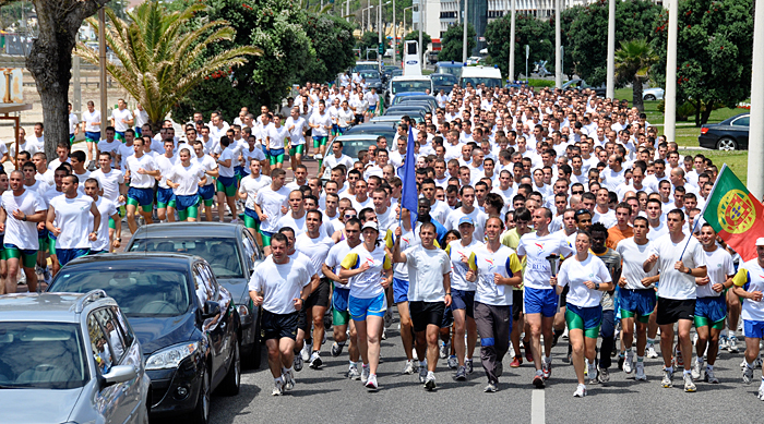 Start of European World Harmony Run 2012
