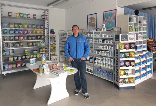 New health food store in Reykjavik