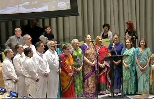 World Interfaith Harmony event at UN