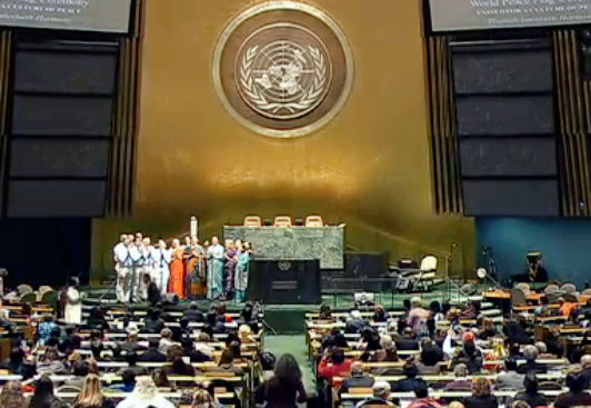 Interfaith ceremony at United Nations